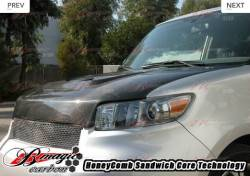 AIT Racing - AIT Racing Monster Carbon Fiber Hood: Scion xB 2008 - 2015 (xB2) - Image 4