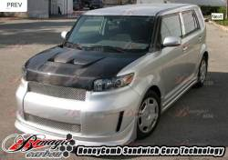 AIT Racing - AIT Racing Monster Carbon Fiber Hood: Scion xB 2008 - 2015 (xB2) - Image 6