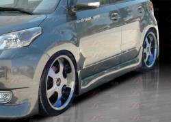 SCION xD PARTS - Scion xD Exterior Parts - AIT Racing - AIT Racing PRESIDENTE Side Skirts: Scion xD 2008 - 2014