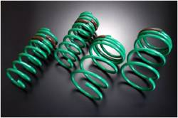 Scion xA Suspension Parts - Scion xA Lowering Springs - Tein - Tein Stech Lowering Springs: Scion xA 2004 - 2006
