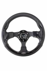 Scion tC2 Interior Parts - Scion tC2 Steering Wheel - NRG Innovations - NRG Innovations Pilota Leather Steering Wheel (320mm)