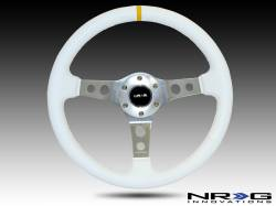 Scion FRS Interior Parts - Scion FRS Steering Wheel - NRG Innovations - NRG Innovations Deep Dish Steering Wheel (350mm)
