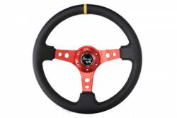 NRG Innovations - NRG Innovations Deep Dish Steering Wheel (350mm) - Image 6