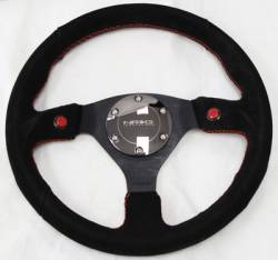 SCION CARBON FIBER PARTS - Scion Carbon Fiber Misc - NRG Innovations - NRG Innovations 2-Button Steering Wheel (320mm)