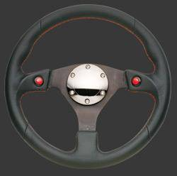 NRG Innovations - NRG Innovations 2-Button Steering Wheel (320mm) - Image 2