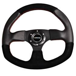 NRG Innovations - NRG Innovations Flat Bottom Steering Wheel (320mm) - Image 3
