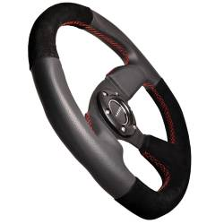 NRG Innovations - NRG Innovations Flat Bottom Steering Wheel (320mm) - Image 4