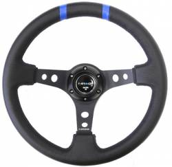 SCION CARBON FIBER PARTS - Scion Carbon Fiber Misc - NRG Innovations - NRG Innovations Limited Edition Deep Dish Steering Wheel (350mm)