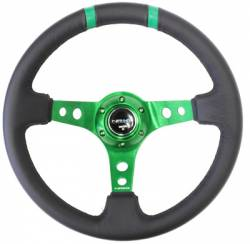 NRG Innovations - NRG Innovations Limited Edition Deep Dish Steering Wheel (350mm) - Image 3