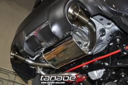 SCION ENGINE PERFORMANCE - Scion Exhaust System - Tanabe - Tanabe Medalion Touring Exhaust System: Scion FR-S 2013-2016; Toyota 86 2017-2018; Subaru BRZ 2013-2018