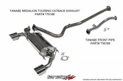 Tanabe - Tanabe Medalion Touring Exhaust System: Scion FR-S 2013-2016; Toyota 86 2017-2018; Subaru BRZ 2013-2018 - Image 2