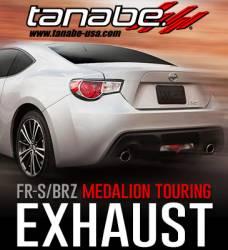 Tanabe - Tanabe Medalion Touring Exhaust System: Scion FR-S 2013-2016; Toyota 86 2017-2018; Subaru BRZ 2013-2018 - Image 4