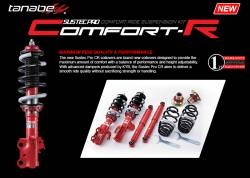 Scion tC2 Suspension Parts - Scion tC2 Coilovers - Tanabe - Tanabe Sustec Pro CR Coilovers: Scion tC 2011 - 2016 (tC2)
