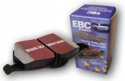 EBC - EBC Ultimax Front Brake Pads: Scion xA / xB 2004 - 2006 - Image 2