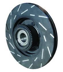 EBC - EBC USR Slotted Rear Brake Rotors: Scion tC 2005 - 2010 - Image 3