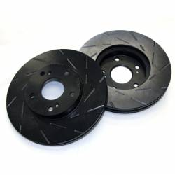 SCION BRAKE PARTS - Scion Brake Rotors - EBC - EBC USR Slotted Front Brake Rotors: Scion xA / xB 2004 - 2006