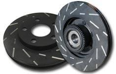 EBC - EBC USR Slotted Front Brake Rotors: Scion xA / xB 2004 - 2006 - Image 2