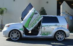 Vertical Doors - Vertical Doors: Scion xB 2008 - 2015 (xB2) - Image 2