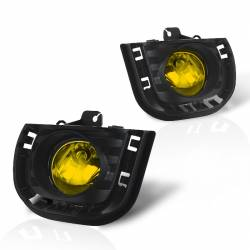 Winjet - Winjet Fog Lights (Yellow): Scion tC 2014 - 2016 (tC2) - Image 1