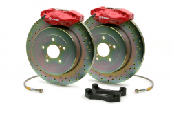 Scion FRS Brake Parts - Scion FRS Brake Kits - Brembo - Brembo GT 2-Piston Rear Big Brake Kit: Scion FR-S 2013 - 2016; Toyota 86 2017-2018; Subaru BRZ 2013-2018