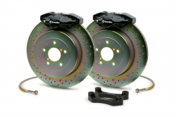 Brembo - Brembo GT 2-Piston Rear Big Brake Kit: Scion FR-S 2013 - 2016; Toyota 86 2017-2018; Subaru BRZ 2013-2018 - Image 2