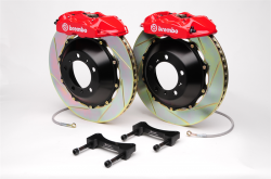 Scion FRS Brake Parts - Scion FRS Brake Kits - Brembo - Brembo GT 4-Piston Rear Big Brake Kit: Scion FR-S 2013 - 2016; Toyota 86 2017-2018; Subaru BRZ 2013-2018