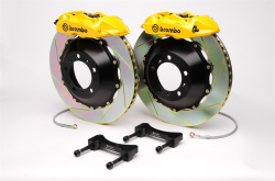 Brembo - Brembo GT 4-Piston Rear Big Brake Kit: Scion FR-S 2013 - 2016; Toyota 86 2017-2018; Subaru BRZ 2013-2018 - Image 4