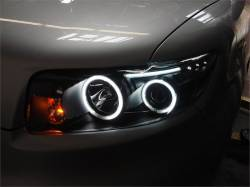 SCION LIGHTING PARTS - Scion Headlights - Eagle Eyes - Eagle Eyes Dual Halo Projector Headlights: Scion xB 2008 - 2010 (xB2)