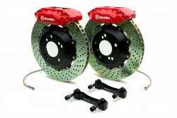 SCION BRAKE PARTS - Scion Big Brake Kit - Brembo - Brembo GT 4-Piston Front Big Brake Kit: Scion tC 2005 - 2010
