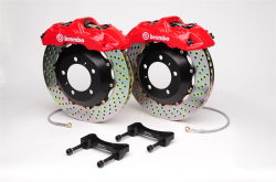 SCION BRAKE PARTS - Scion Big Brake Kit - Brembo - Brembo GT 6-Piston Front Big Brake Kit: Scion FR-S 2013 - 2016