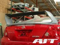 SCION tC PARTS - Scion tC Exterior Parts - Scion tC Rear Spoiler