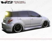 Scion xA Side Skirts