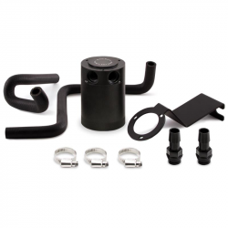 Mishimoto - Mishimoto Baffled Oil Catch Can Kit:  Scion FR-S 2013-2016 ; Toyota 86 2017-2020 ; Subaru BRZ  2013-2020