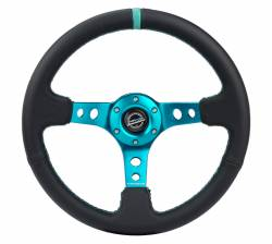 SCION INTERIOR PARTS - Scion Steering Wheels / Quick Release - NRG Innovations - NRG Innovations RST-006 Deep Dish Steering Wheel (350mm)