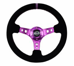 NRG Innovations - NRG Innovations RST-006 Deep Dish Steering Wheel (350mm) - Image 3