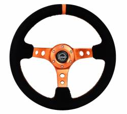 NRG Innovations - NRG Innovations RST-006 Deep Dish Steering Wheel (350mm) - Image 5