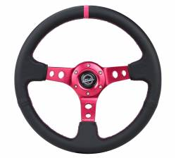 NRG Innovations - NRG Innovations RST-006 Deep Dish Steering Wheel (350mm) - Image 14