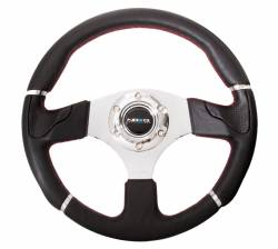 SCION INTERIOR PARTS - Scion Steering Wheels / Quick Release - NRG Innovations - NRG Innovations RST-008 Evo Leather Steering Wheel (320mm)