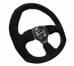 NRG Innovations - NRG Innovations RST-009 Flat Bottom Steering Wheel (320mm) - Image 6