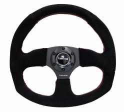 NRG Innovations - NRG Innovations RST-009 Flat Bottom Steering Wheel (320mm) - Image 3