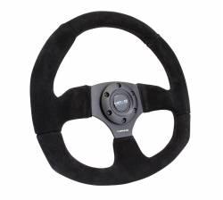 NRG Innovations - NRG Innovations RST-009 Flat Bottom Steering Wheel (320mm) - Image 8