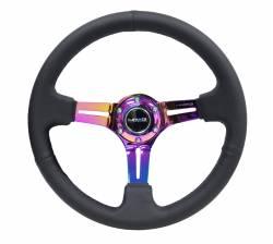 NRG Innovations - NRG Innovations RST-018 Wood Deep Dish Steering Wheel (350mm) - Image 4