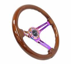 NRG Innovations - NRG Innovations RST-018 Wood Deep Dish Steering Wheel (350mm) - Image 23