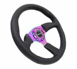 "NRG Innovations - NRG Innovations RST-023 2.5"" Deep Dish Steering Wheel (350mm) - Image 10"