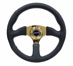 "SCION INTERIOR PARTS - Scion Steering Wheels / Quick Release - NRG Innovations - NRG Innovations RST-023 2.5"" Deep Dish Steering Wheel (350mm)"