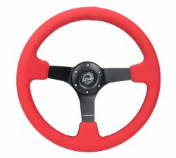 SCION CARBON FIBER PARTS - Scion Carbon Fiber Misc - NRG Innovations - NRG Innovations RST-036 5mm Spoke Steering Wheel (350mm)