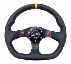 NRG Innovations - NRG Innovations RST-024 Flat Bottom Steering Wheel (320mm) - Image 1