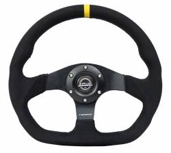 NRG Innovations - NRG Innovations RST-024 Flat Bottom Steering Wheel (320mm) - Image 4