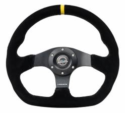 NRG Innovations - NRG Innovations RST-024 Flat Bottom Steering Wheel (320mm) - Image 5