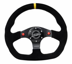 NRG Innovations - NRG Innovations RST-024 Flat Bottom Steering Wheel (320mm) - Image 2